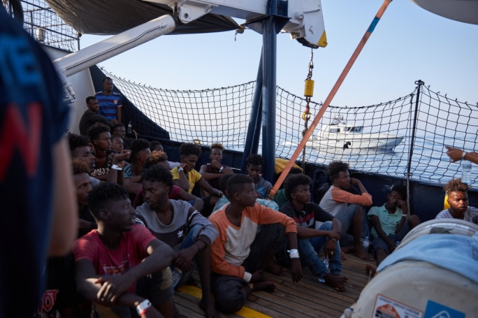 The Alan Kurdi has 65 migrants on board