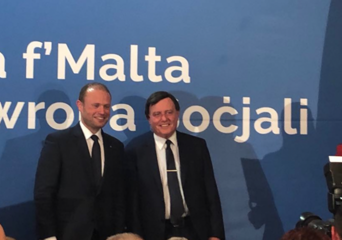Alfred Sant launches MEP election campaign,  says he's sick of seeing people attack Malta