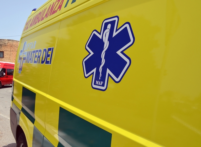 Two people suffer grievous injuries in separate falls