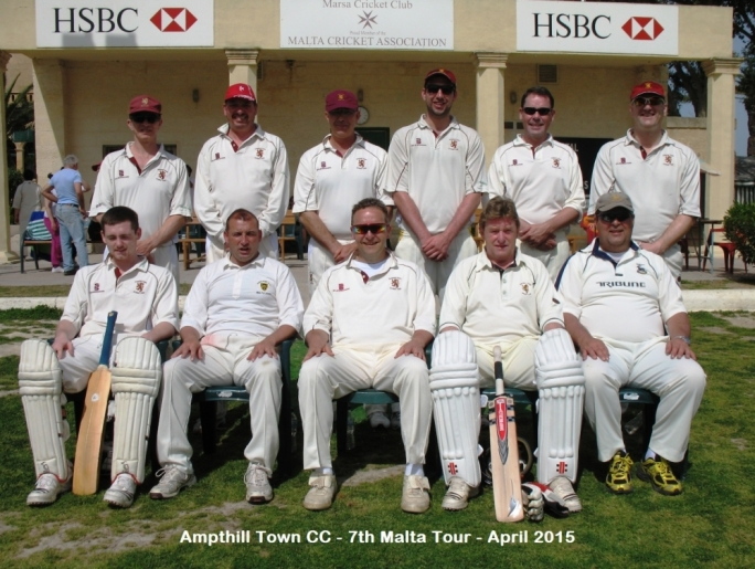 Amthill Town CC - Malta Tour April 2015