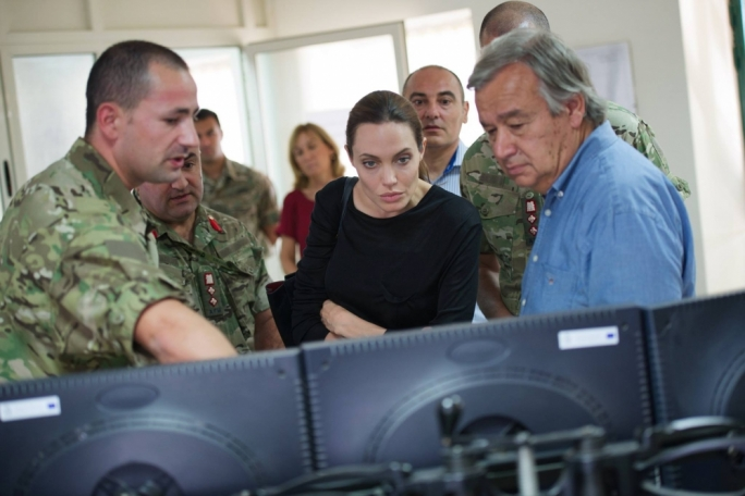 [WATCH] Angelina Jolie speaks to survivors of the harrowing Lampedusa shipwreck