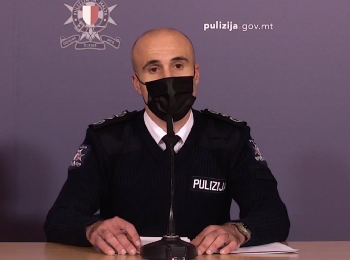 [WATCH] 'Every person, from mastermind to executioner, in Caruana Galizia murder is apprehended,' Police Commissioner says