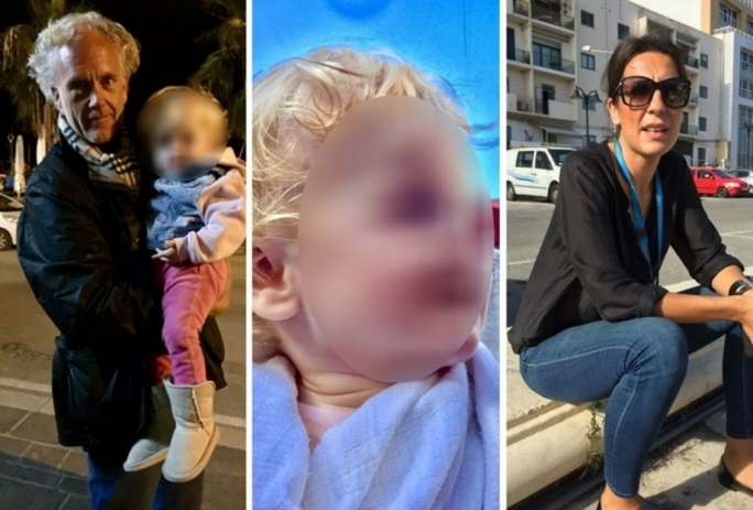 Andreas Wil Gerdes has accused his wife Anika De Vilera of abducting their daughter and fleeing Malta