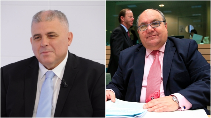 Both Anton Refalo (left) and Manuel Mallia have denied knowledge of the meeting