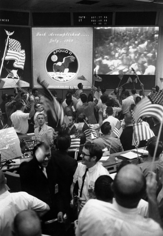 Splashdown: NASA command centre celebrates the safe arrival of its astronauts back to Earth