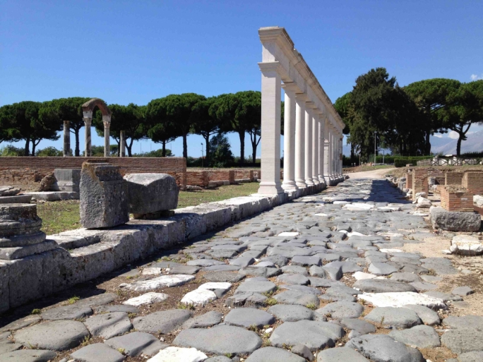 The Appia Antica is the world's longest museum with catacombs, aqueducts and tombs at every corner