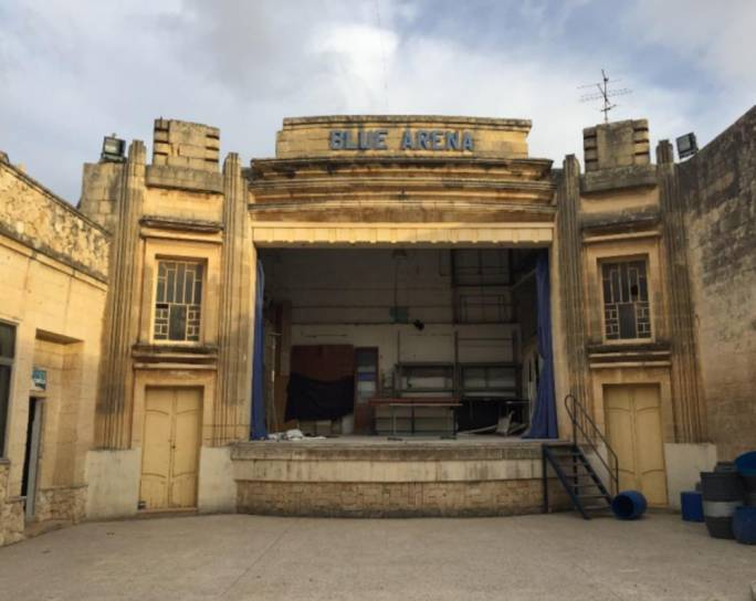 Zabbar's Blue Arena to be restored