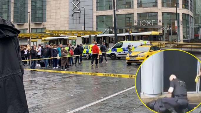 Five stabbed at Manchester's Arndale shopping centre