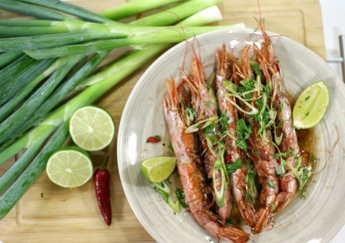 [WATCH] Asian tiger prawns