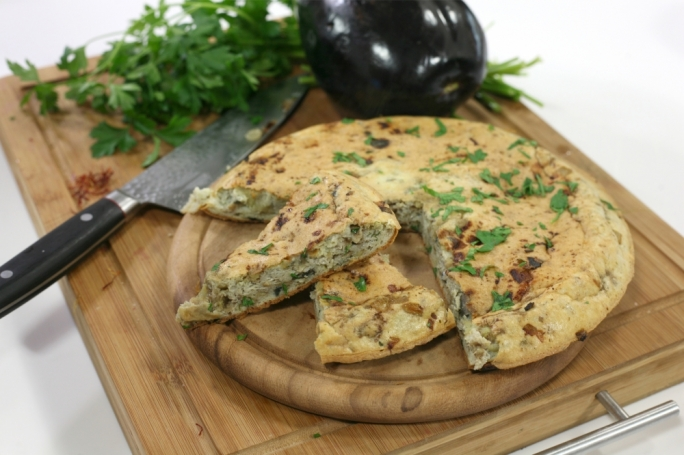 [WATCH] Aubergine frittata