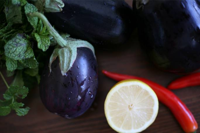 Three recipes from around the world with local aubergines