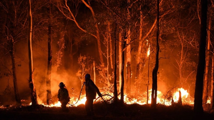 The apocalyptic images from Australia's wildfire crisis