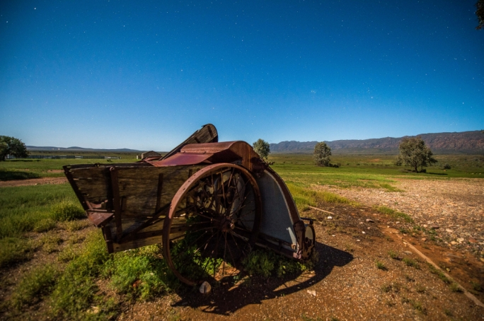 The Flinders Ranges covered in unique flora, this is a photographer's heaven