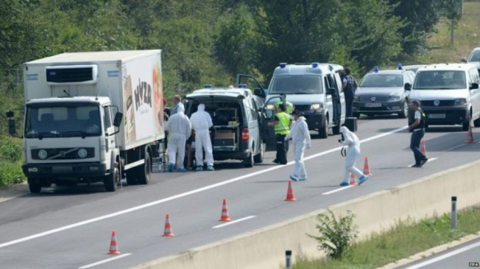 Hungarian police arrest four in connection with Austria lorry deaths