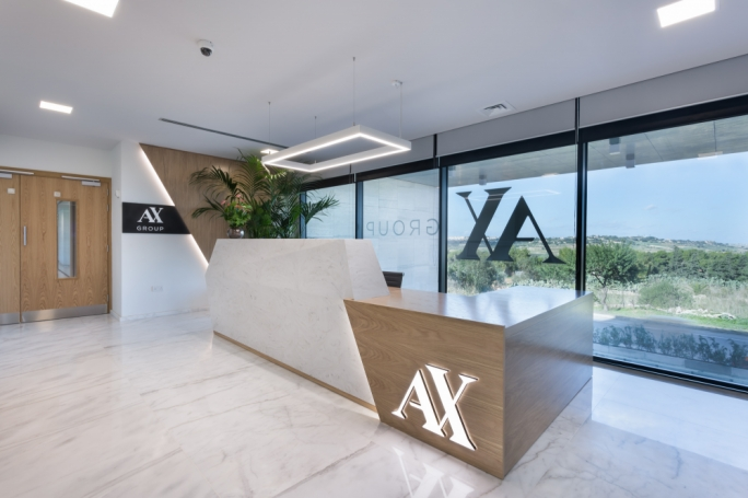 AX Business centre reception