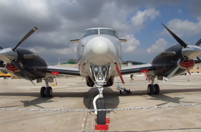 B200 King Air of the Armed Forces of Malta
