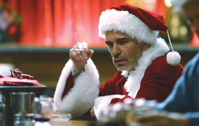 Bah, humbug! Billy Bob Thornton in Bad Santa
