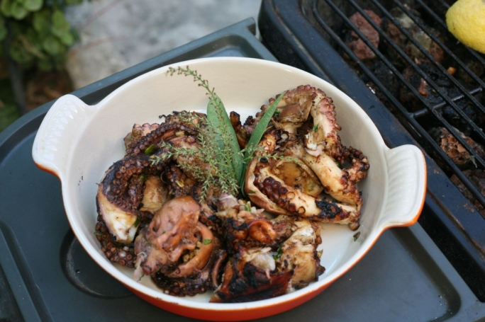 [WATCH] Barbecued Asian marinated octopus