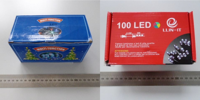 These Christmas lights are dangerous and must be returned to the point of sale, the consumers' watchdog says