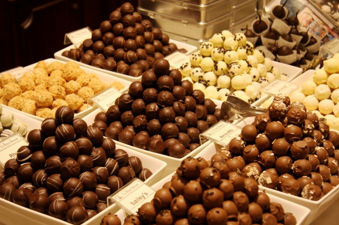 Belgian chocolate: Belgians are known the world over for their supremacy in the world of chocolate, with some 220,000 tons being produced every year