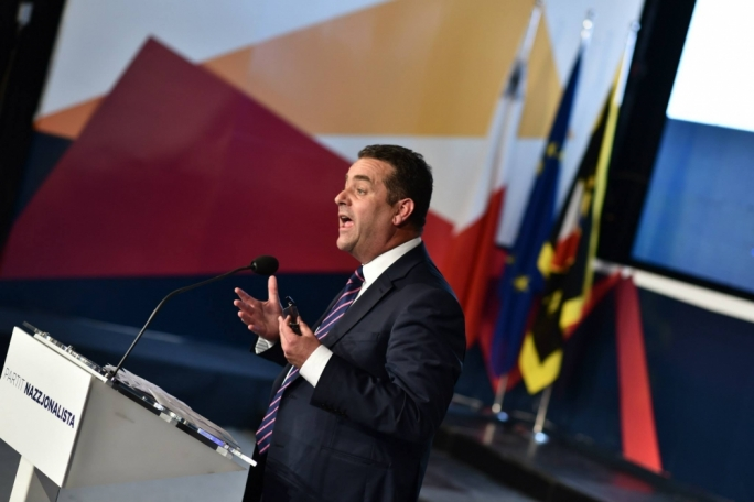 File photo: PN deputy leader Beppe Fenech Adami addressing the general council (Photo: Facebook/PN)