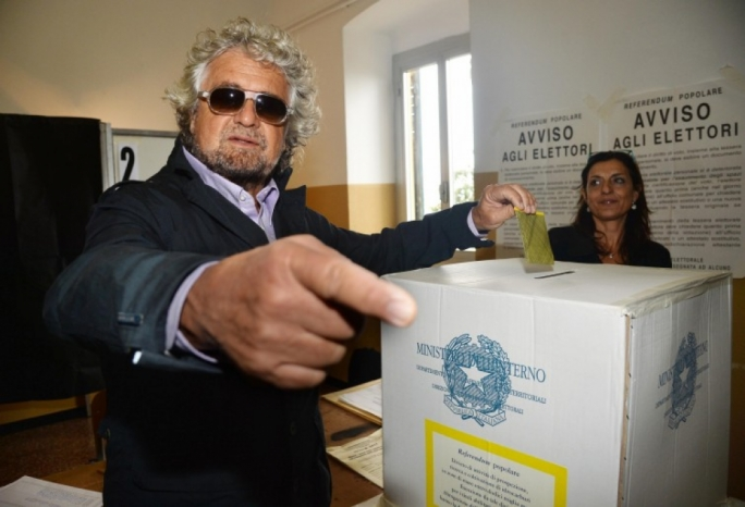 Beppe Grillo - he is not Trump