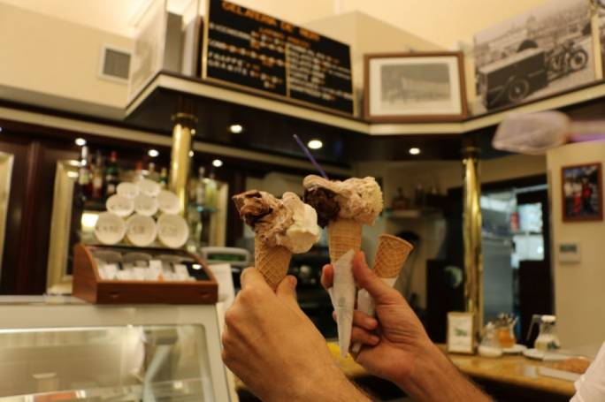 Whatever happens always leave room for dessert. The best ice cream in Florence can be found at Gelateria dei Neri