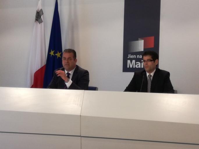 Beppe Fenech Adami was addressing a press conference at Dar Centrali