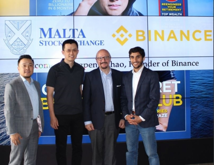 Binance partners with Malta Stock Exchange on Fintech accelerator programme