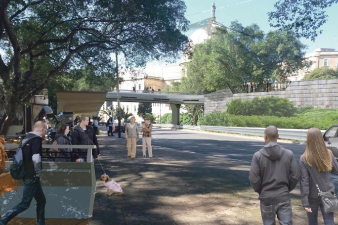 Cyclists hail plans for Blata l-Bajda pedestrian bridge as