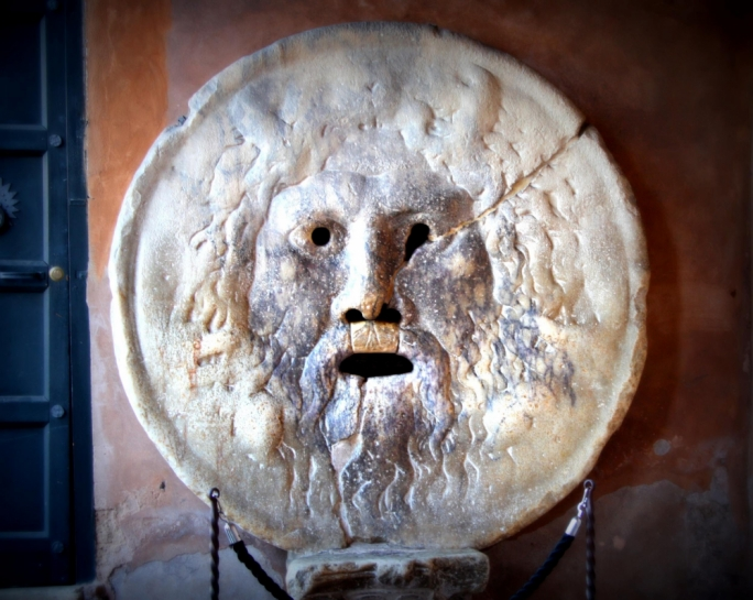 Do you dare put your hand into the Bocca della Verita?