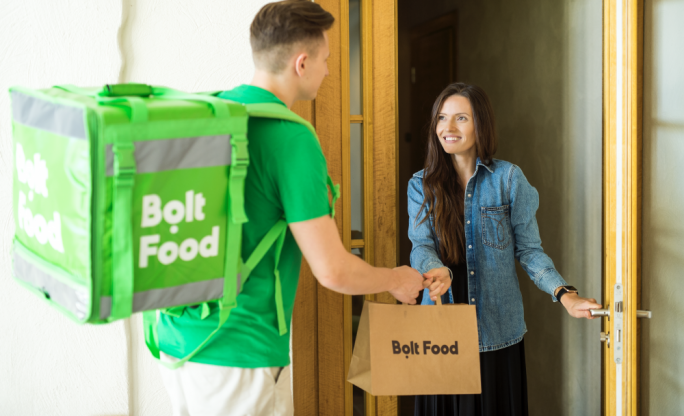 Taxi platform Bolt launches food delivery service
