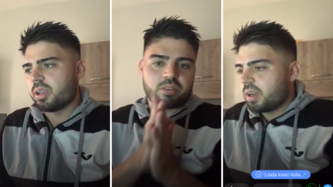 Footballer takes on the Syria Gzira FC haters and racists in Facebook livestream