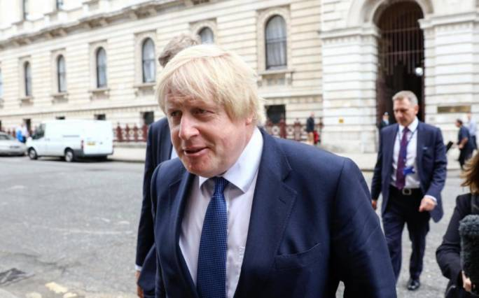 Boris Johnson tops first Tory leadership contest ballot