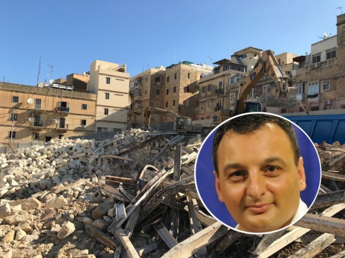 PN MP Ivan Bartolo (inset) criticised government for not building any social housing units in the past five years and ongoing works will only deliver new units in two years' time