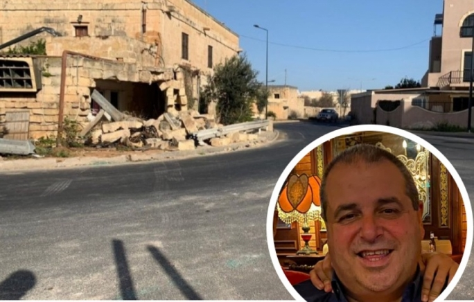 James Barbara was seriously injured after losing control of his car on Bormla Road, Zejtun
