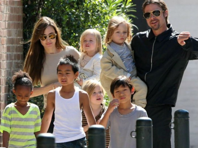 The couple has six children and Angelina Jolie is filing for physical custody