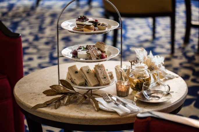 Christmas tea at Corinthia St. George's Bay