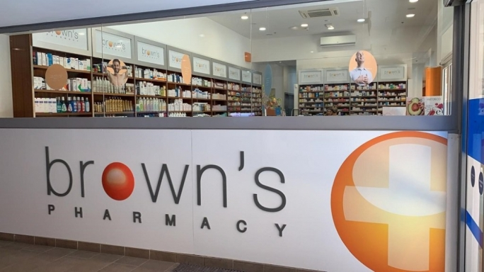The free delivery service will be available to all Brown's Pharmacy's POYC customers as from Thursday
