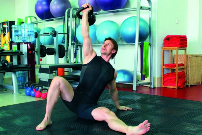 Build strength and endurance with kettlebells