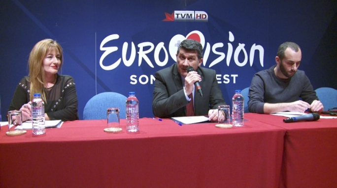 PBS chief executive John Bundy (centre) has announced a raft of changes to this year's Eurovision Song Contest