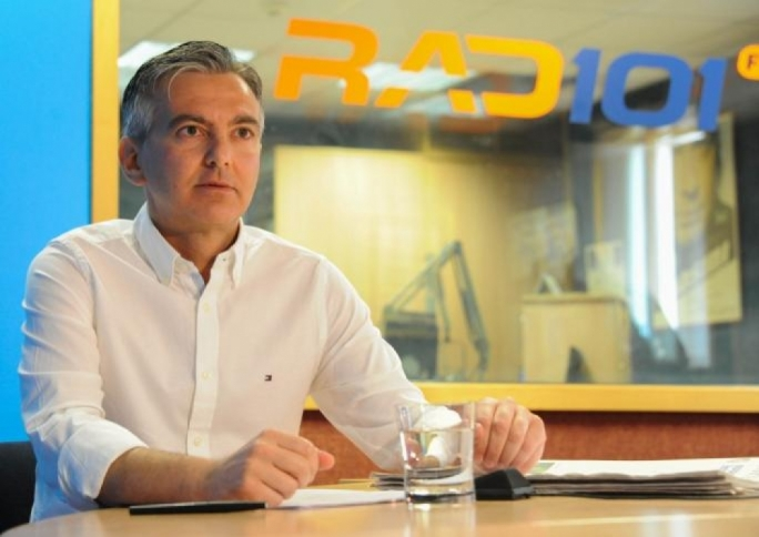 Opposition leader Simon Busuttil interviewed on Radio 101