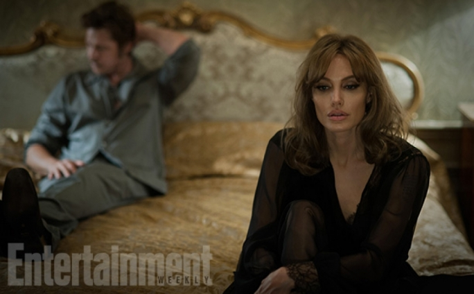 Stills from By the Sea, filmed in Gozo and starring Angelina Jolie and Brad Pitt. Copyright: Entertainment Weekly/Merrick Morton