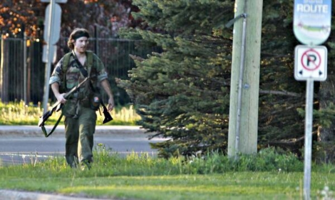 Three police officers shot dead in Canada