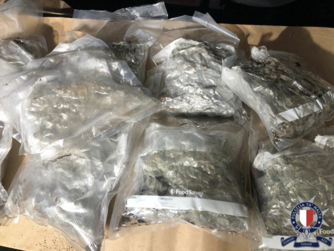 Man to face charges for possession of half a kilo of cannabis