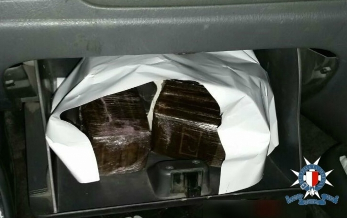 Man remanded in custody after drugs squad finds a kilo of cannabis in his car