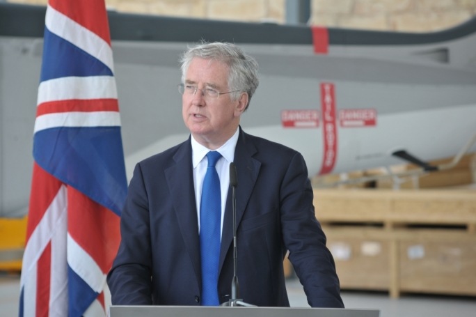UK defence secretary suggests Britain use aid budget to discourage mass migration from Africa