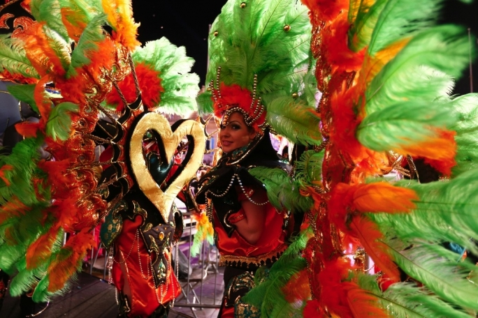This year's edition of the Carnival will take place between February 12 and 17