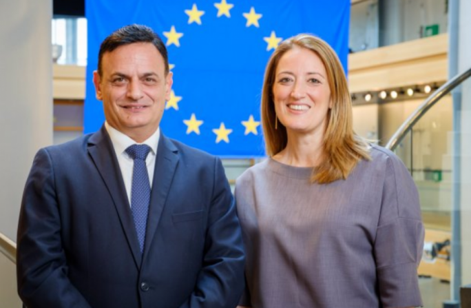 David Casa and Roberta Metsola were both elected coordinators of their respective committees at the European Parliament