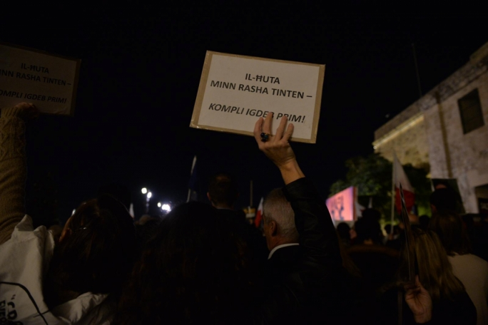 [WATCH] People decry 'mafia state' in second anti-corruption protest in Valletta